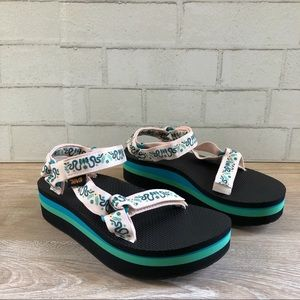Teva x Anna Sui Flatform Universal Sandals